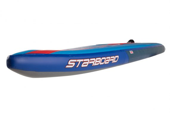 Starboard_Racer_pripuciama_irklente_sup_inflatable_racer_nose