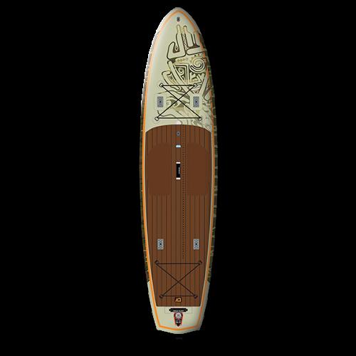 Starboard_Sportsman_pripuciama_irklente_sup_12x34_inflatable_Fisherman_DELUXE_top